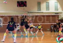 Il punto sulla serie B femminile: San Giustino stop