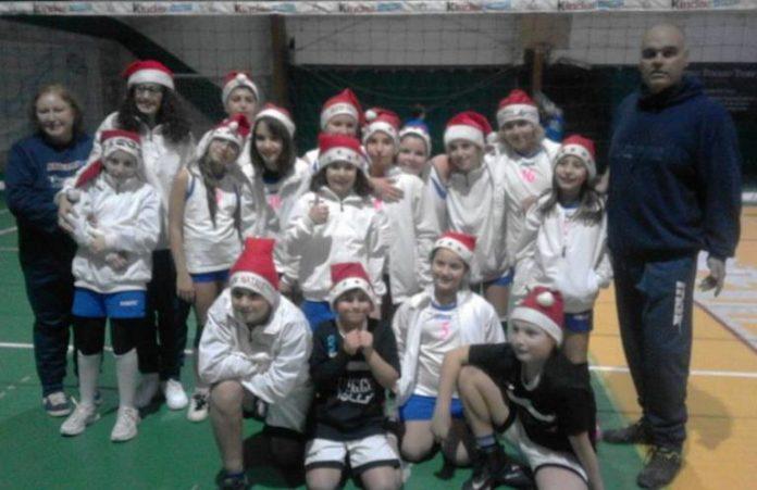 In under 12 Clitunno Volley vicina alla qualificazione