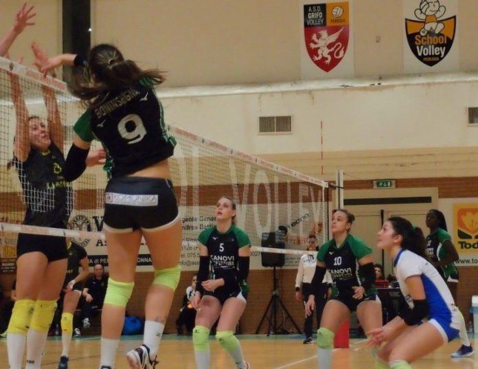 School Volley Perugia chiude con una sconfitta