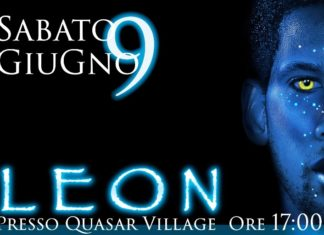 Sabato 9 giugno Leon sarà al Quasar Village