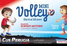 Il CUS Perugia rilancia il minivolley