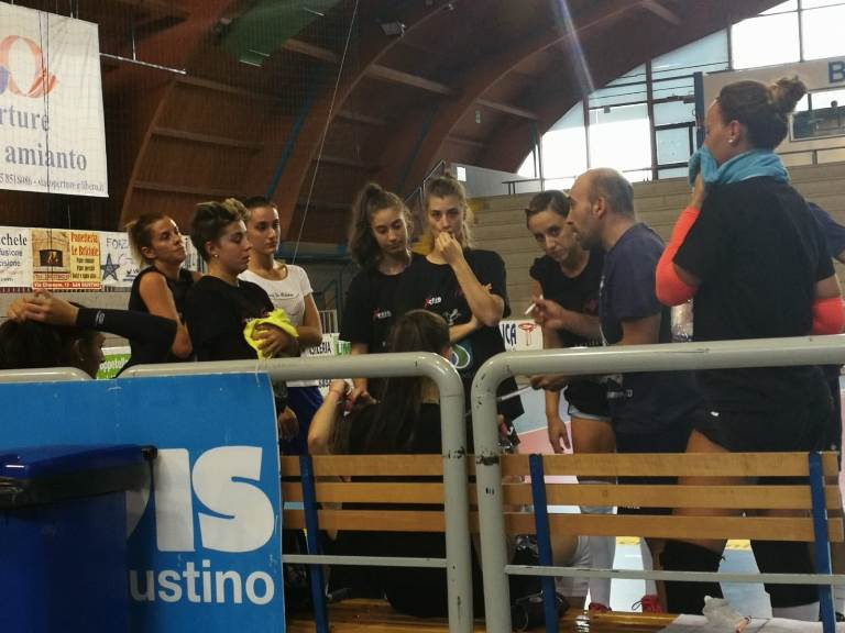 San Giustino Volley facile contro Cervia