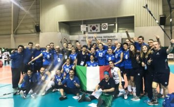 La nazionale italiana di Sitting Volley ospite al Centro Federale di Valtopina