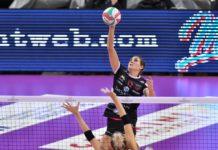 La Bartoccini Gioiellerie Perugia batte Montecchio e torna in testa