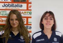 """Castello """"forza 2001"""": ecco Bruschi e Ferrini. La società tifernate accoglie le due giovani atlete provenienti dal San Giustino"""