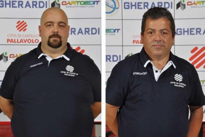 Città di Castello: il duo Mandrelli-Orazi a supporto di coach Brizi. Il primo sarà il dirigente responsabile, il secondo l'addetto al ricevimento e all'assistenza degli arbitri
