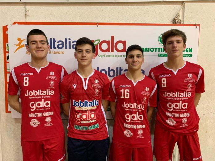 La Job Italia inizia a raccogliere i frutti col settore giovanile. Quattro atleti della società tifernati convocati per un raduno settimanale con Velasco