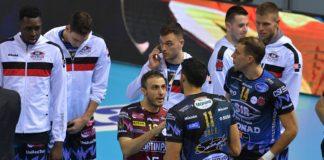 """Sir, Colaci: """"A Civitanova vittoria importante per mille motivi"""". Il libero di Perugia: """"Sempre importante vincere la regular season. E le nuove maglie ci portano fortuna"""""""