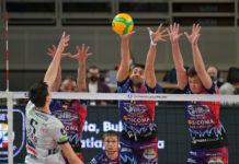 Champions: tracollo Sir a Trento. I Block Devils cadono 3-0 nell'andata della semifinale. A Perugia servirà un'altra impresa